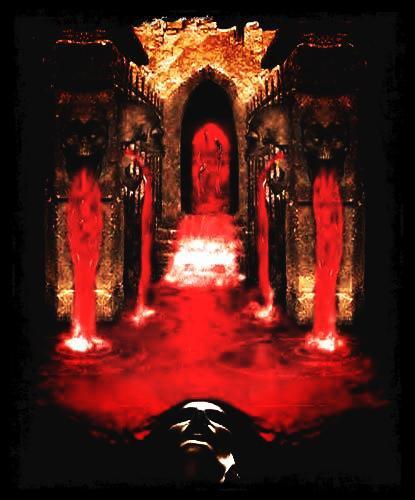 Réflexion d'un vampire
