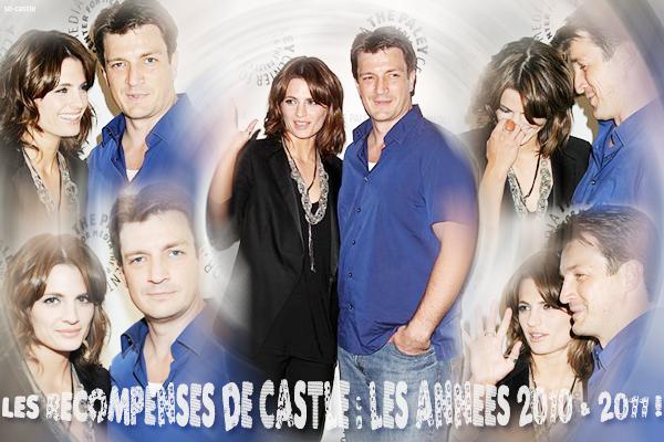 Catégorie: La série  Les récompenses de Castle: les années 2010 & 2011 ! Créa & gifs: Florine