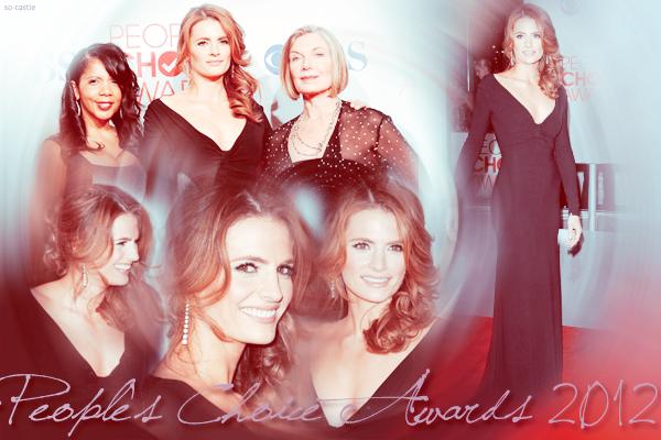Catégorie: La série  Les récompenses de Castle: People's Choice Awards 2012 ! Créa & gifs: Florine