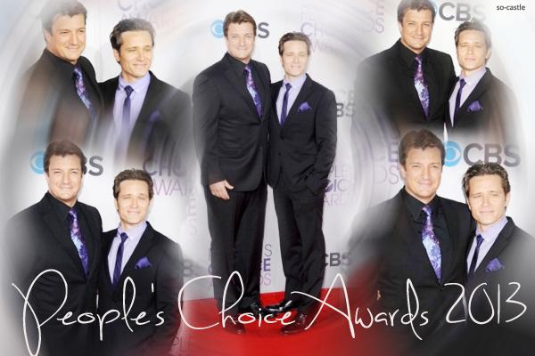 Catégorie: La série  Les récompenses de Castle: People's Choice Awards 2013 ! Créa & gifs: Florine