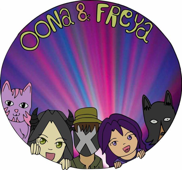 <3 Oona & Freya : Le webcomic !