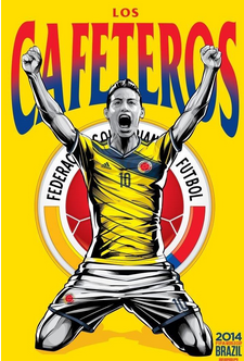 Colombie -  Grèce  : la domination des Cafeteros