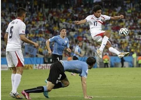 Uruguay - Costa  Rica  :  La  surprise des  Ticos