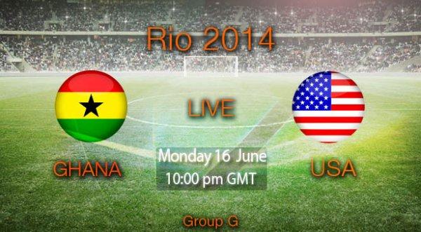 Ghana - Etats Unis  : Le match du record