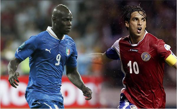 Italie - Costa Rica : un Ticos pour les 1/8eme