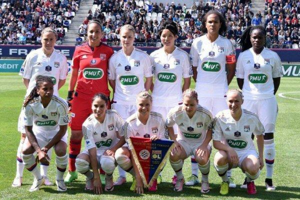 Ligue des Champions feminine ;  Le triplé lyonnais