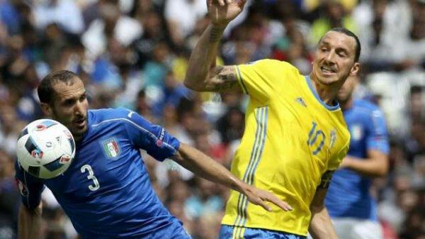 Italie Suede    Eder envoie la Squadra en 1/8ème