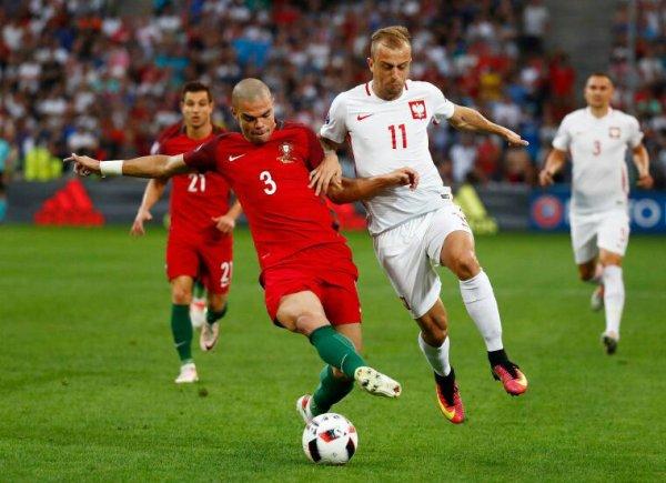 Pologne Portugal Quaresma tir au but vainqueur