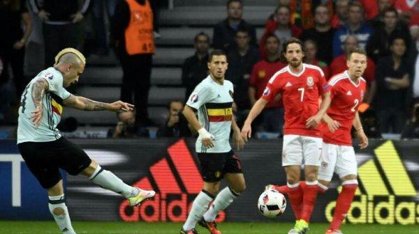 Pays de Galles Belgique  La débacle belge