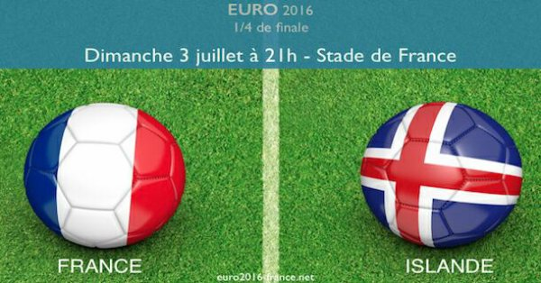 France Islande Festival de buts