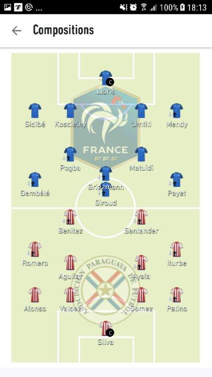 France - Paraguay   Festival de buts