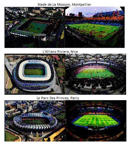 Coupe du monde féminine 2019 :  le choix des stades