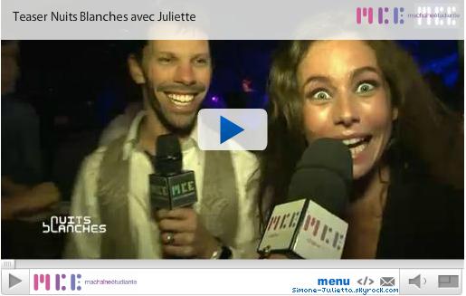 PHOTOS : Tweet de Simon - 14/01 + Emission de Juliette sur MCE - 12/01 + Simon et Juliette au Ski - 13/01