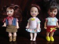 Continuons dans les Shelly et autres minis de Mattel
