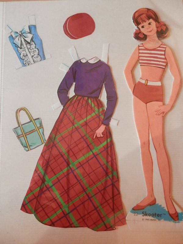 """Qui a dit """"la mode est un éternel recommencement""""? (mes paper dolls)"""