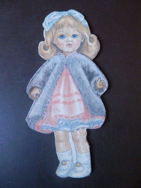 Ginny paper doll