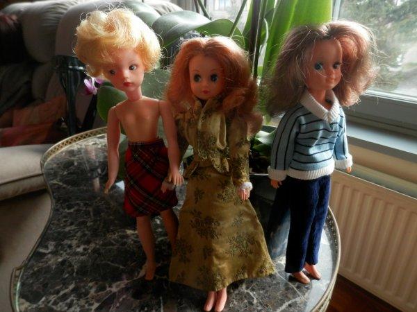 Bonne journée pour les poupées!