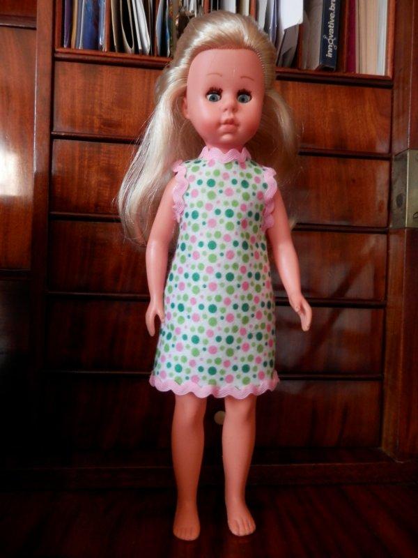 Petite robe style années 60