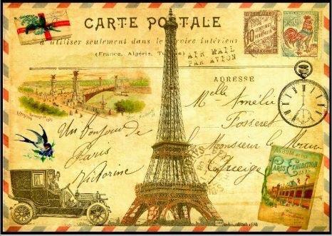 carte postale d'automne