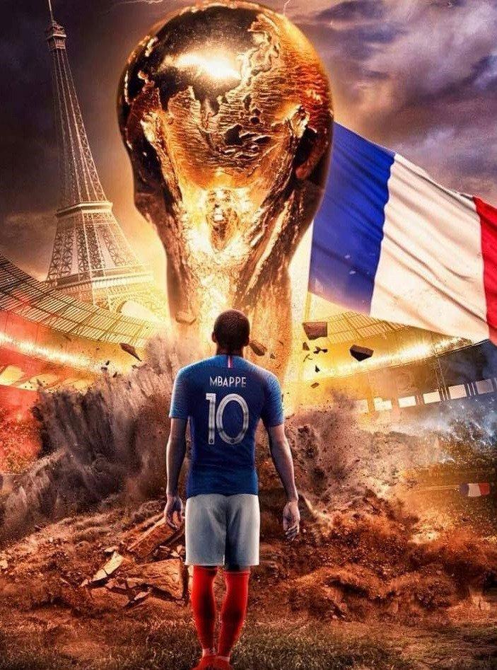 les bleus vainqueurs de la coupe du monde