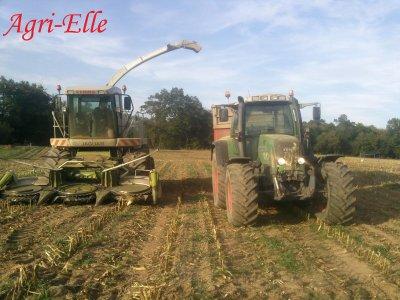 Dernier chantier ensilage maïs 2010