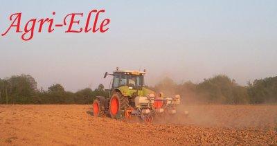 Aprés un labour sec, des semis poussiéreux