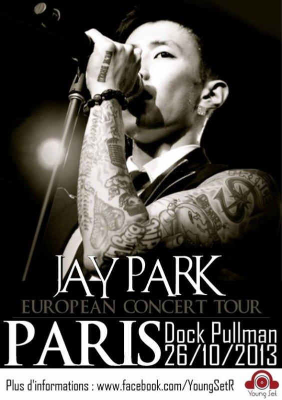 Concert a paris : Jay Park