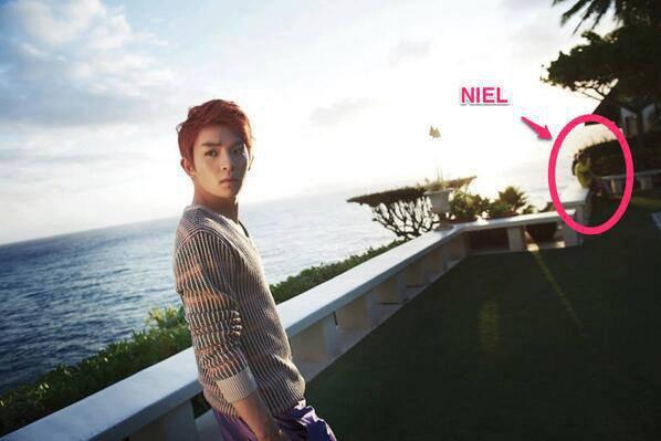 Teen Top photo ricky : le détail qui tue !!