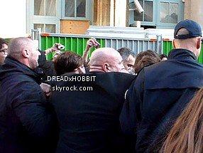 Arrivée des One Direction Gare du Nord ; 20.02.12