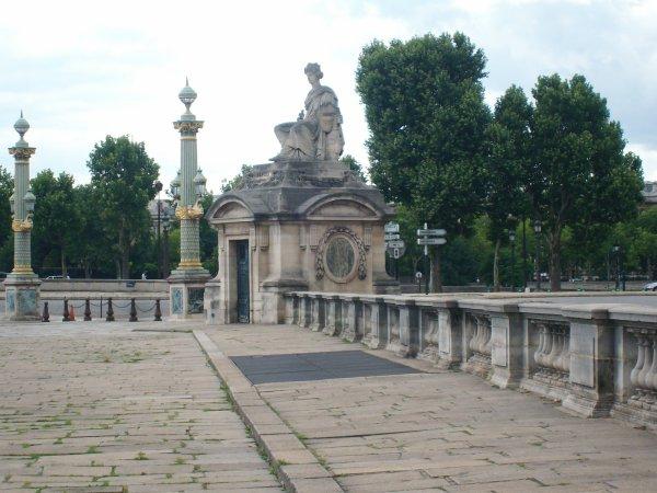 L'entree du jardin des Tuileries