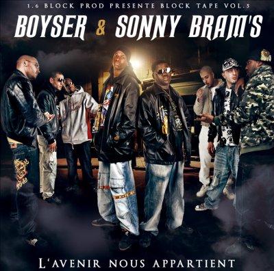 "BlockTape Vol.5 BOYSER & SONNY BRAM'S ""L'Avenir Nous Appartient"""