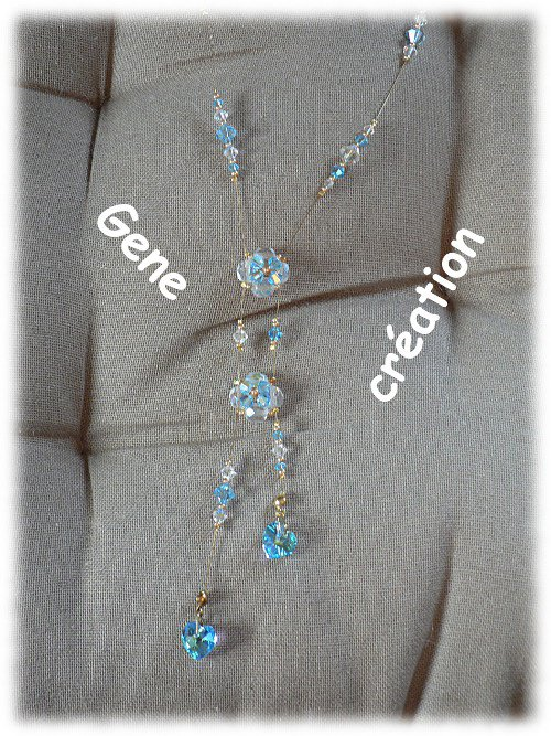 Collier 2 coeurs