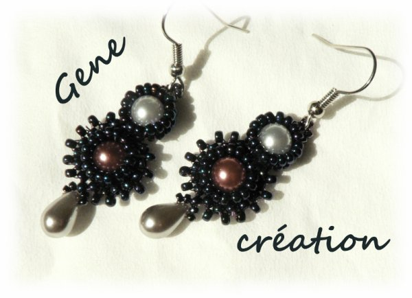 2 ème Collier Atelier TEMPO du blog collectif de Perles Dent'Elles