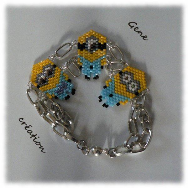 """Bracelet """"Les Minions"""""""