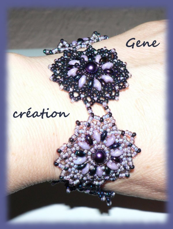 "Bracelet ""netting circulaire"""