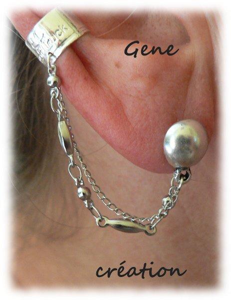 Boucles d'oreilles et bagues d'oreilles