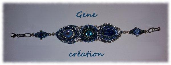 Bracelet... Envie de bleu...