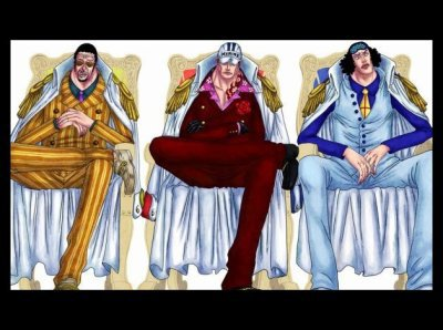 Les Trois Amiraux !