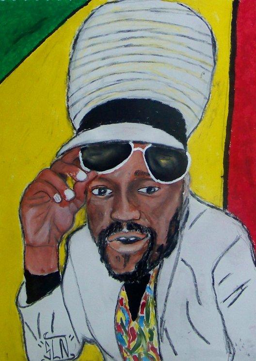 MICHAEL ROSE fait au Pastel. Aout 2010. Artiste Reggae JA