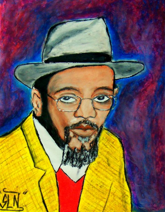 LINTON KWESI JOHNSON fait au Pastel. Septembre 2010.Artiste Reggae