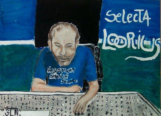 Selecta LOORIUS fais au Pastel. Septembre 2010. Producteur