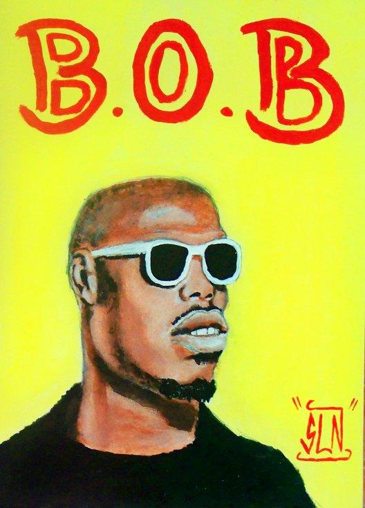 B.O.B fait a la peinture. Septembre 2010. Artiste Hip Hop US