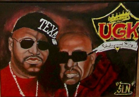 UGK fait a la Peinture. Novembre 2010. Groupe Hip Hop US