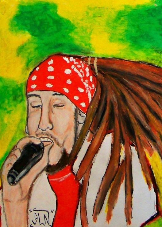 MORODO fait au Pastel. Décembre 2010. Artiste Reggae/Dancehall