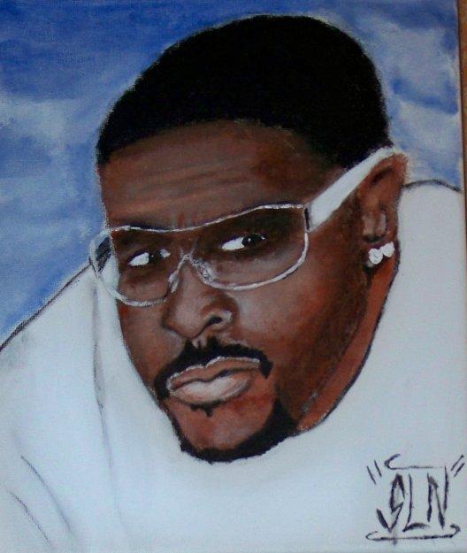 BLACK SILVER fait a la Peinture. Décembre 2010. Artiste Hip Hop us