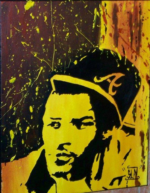 T.I. Fait a la Peinture. Janvier 2011. Artiste Hip Hop US