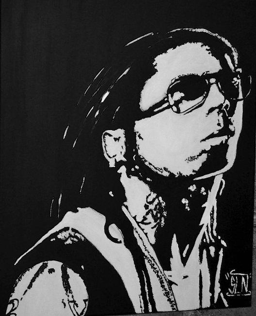 LIL WAYNE fait a la Peinture. Janvier 2010. Artiste Hip Hop US