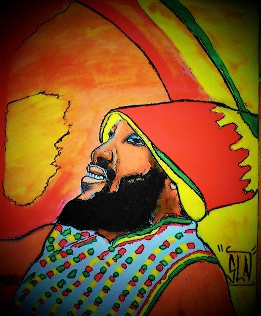 JUNIOR KELLY fait au Pastel . Mars 2011. Artiste Reggae JA