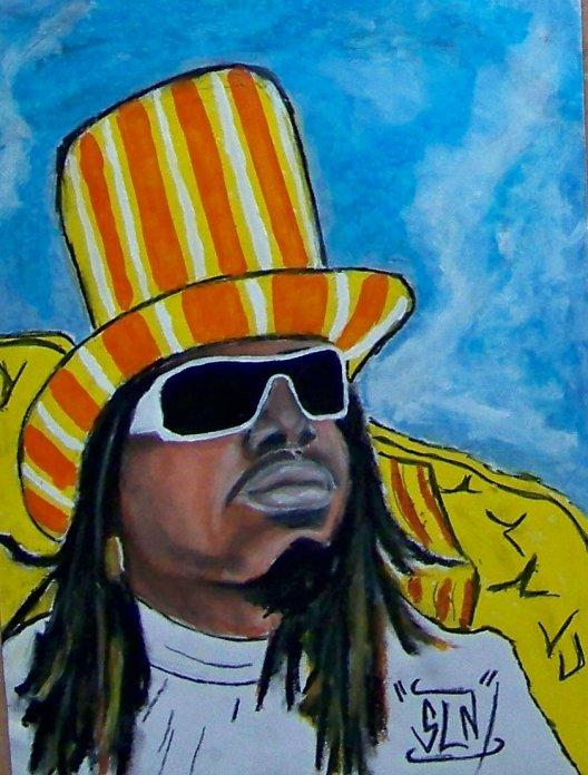 T-PAIN fait au Pastel. Mars 2011. Artiste Hip hop US.