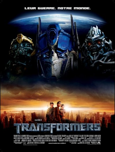 Transformers 1, Transformers 2 : La revanche & Transformers 3